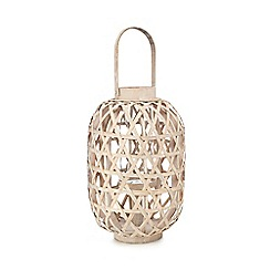 Home Collection - Natural tall bamboo lantern
