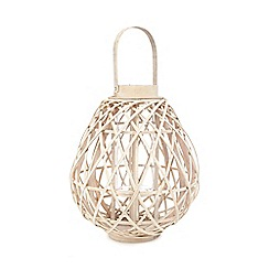 Home Collection - Natural round bamboo lantern