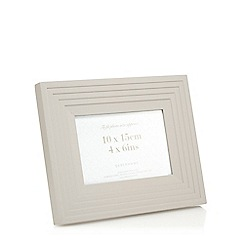 Home Collection - Grey layered effect photo frame