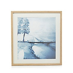 Home Collection - Blue watercolour wall art