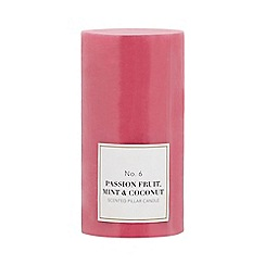 Home Collection - Pink scented pillar candle