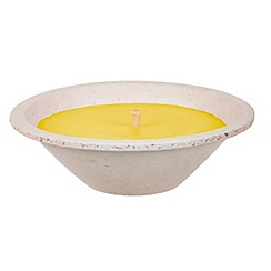 Spaas - Large round citronella votive candle
