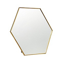 Home Collection - Gold trim mirror