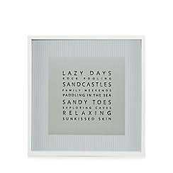 Home Collection - Blue Lazy Days' wall art