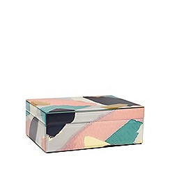 Home Collection - Large multi-coloured glass box