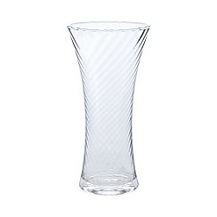 Home Collection - Glass optic flare vase