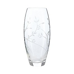 Home Collection - Leaf etched vase