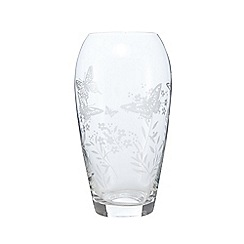 Home Collection - Butterfly etched vase