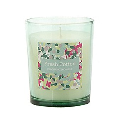 Debenhams - Aqua fresh cotton scented votive candle