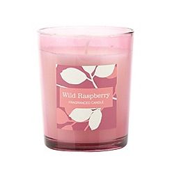 Debenhams - Pink wild raspberry scented votive candle