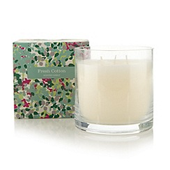 Debenhams - Fresh cotton scented candle