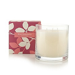 Debenhams - Wild raspberry scented candle