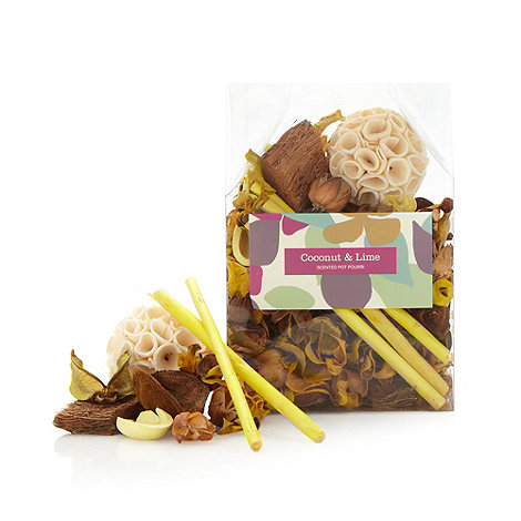 Debenhams - Coconut and lime scented pot pourri