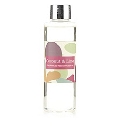 Debenhams - Coconut and lime 130ml reed diffuser oil