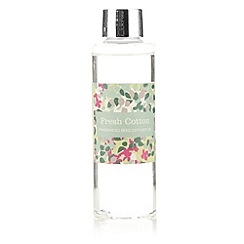 Debenhams - Fresh cotton 130ml reed diffuser oil