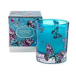 Butterfly Home by Matthew Williamson - Designer blue myrrh scented candle