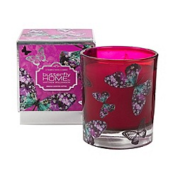 Butterfly Home by Matthew Williamson - Designer pink mimosa scented candle