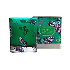 Butterfly Home by Matthew Williamson - Designer green butterfly print grapefruit scented votive candle