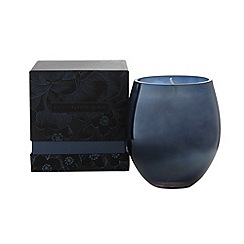 Betty Jackson.Black - Designer blue agapanthus scented glass votive candle