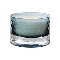 Betty Jackson.Black - Designer aqua cut glass agapanthus scented candle
