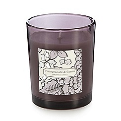 Debenhams - Pomegranate and cassis scented votive candle
