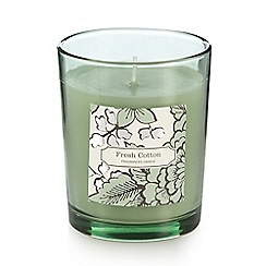 Debenhams - Fresh cotton scented votive candle