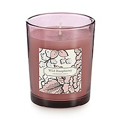 Debenhams - Wild raspberry scented votive candle