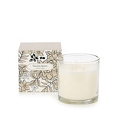 Debenhams - Vanilla spice scented large votive candle in box