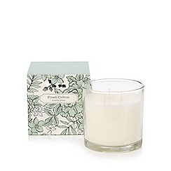 Debenhams - Fresh cotton scented large votive candle in box