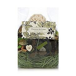 Debenhams - Coconut and lime scented pot pourri