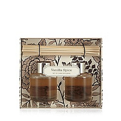 Debenhams - Set of two vanilla spice scented diffusers