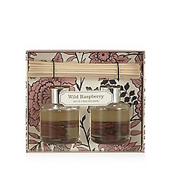 Debenhams - Set of two wild raspberry scented diffusers