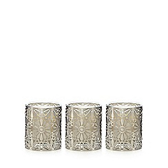 RJR.John Rocha - Pack of 3 floral cut out fig scented candles