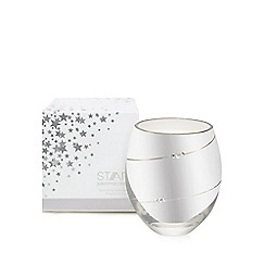 Star by Julien MacDonald - Designer silver champagne scented votive candle