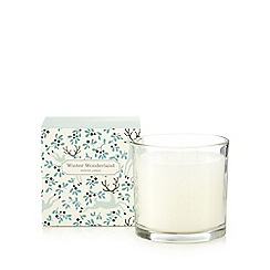 Debenhams - Large 'winter wonderland' scented candle in box