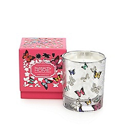 Butterfly Home by Matthew Williamson - Pink myrrh scented votive candle