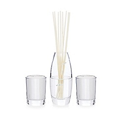 Star by Julien Macdonald - Silver reed diffuser and scented votives gift set