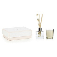 J by Jasper Conran - White tea votive candle and diffuser set
