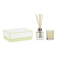 J by Jasper Conran - Fig and cedar votive candles and diffuser set