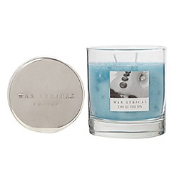 Wax Lyrical - Large 'Day at the spa' fragranced candle jar
