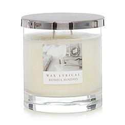 Colony - Large 'Blissful Sundays' candle jar
