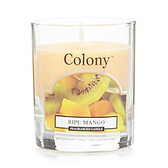 Colony - Ripe Mango scented candle jar