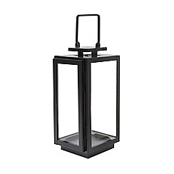 Debenhams - Small black lantern
