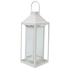 Debenhams - Suspended white lantern