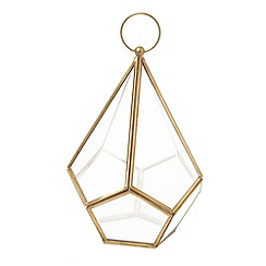Home Collection - Small diamond shaped lantern