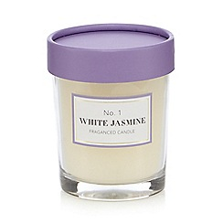 Debenhams - White jasmine scented votive candle