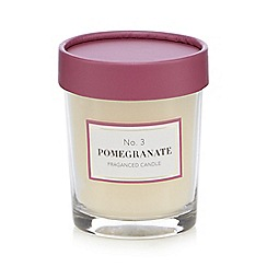 Debenhams - Pomegranate votive candle