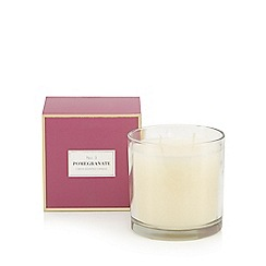 Debenhams - Pomegranate 3-wick candle