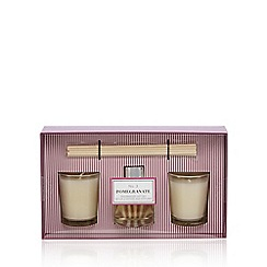Home Collection - Pomegranate votive candle and diffuser set