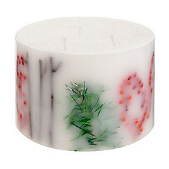 Debenhams - Large Frosted Fir Candle